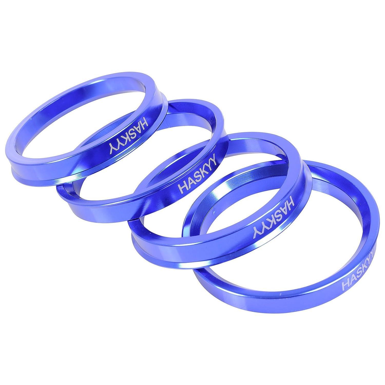 Alurad Shop Z-666571ALU Alluminio Anelli di centraggio 4 Argento Haskyy