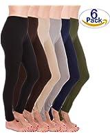Homma Premium Ultra Soft High Rise Waist Full Length Regular and Plus Size Variety pack Leggings