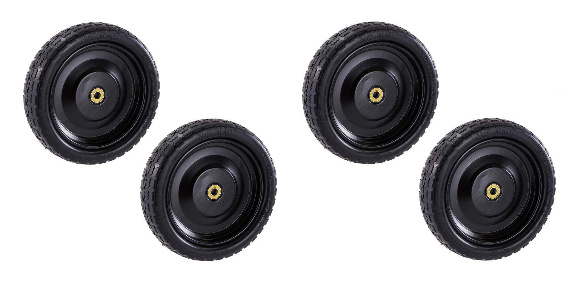 Gorilla Carts GCT-13NF Replacement Tire, 13'' (2 X Pack of 2)