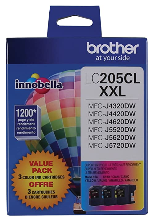 Brother Printer LC2053PKS Multi Pack Ink Cartridge Cyan Magenta Yellow
