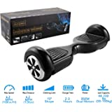 "Yuebo Hover Board 6.5"" UL 2272 Listed Two-Wheel Self Balancing Scooter-Max 225lbs, 350W Dual Motors, Patented Battery Protection, 6.5 MPH Speed, One-Year Warranty[Sheepfun Official Store]"