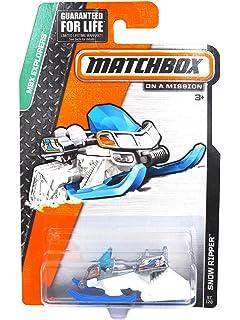 Amazon Com Zamboni Matchbox Ice Set Mbx Explorers Matchbox Blizzard