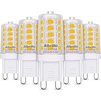 Albrillo Bombillas LED G9 de 3.5W, 40 W