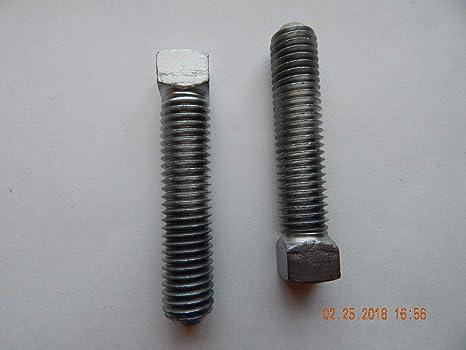 10-32 x 3//4 Nylon Set Screw Flat Point Combo Drive Plastic Fastener S22109
