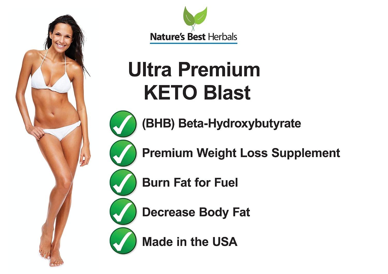 Ultra Premium Keto Blast Weight Loss Supplement to Burn ...