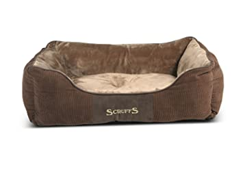 Scruffs Chester cama para perro, grande, 75 x 60 cm, color marrón: Amazon.es: Productos para mascotas