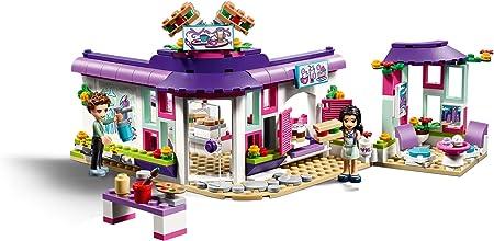 LEGO Friends - Café del Arte de Emma, Juguete con Mini Muñecas ...