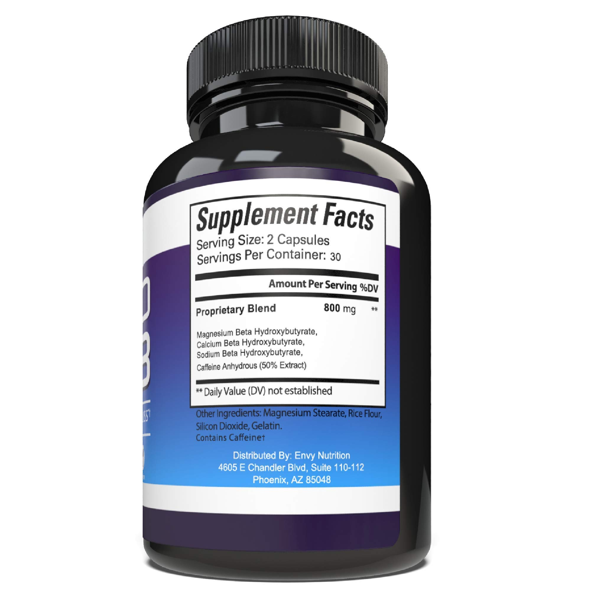 Best Keto Diet Pills - Advanced Weight Loss - BHB Salts Support Fat Burning, Ketosis, Improved Energy and Enhanced Focus by Envy Nutrition (Image #3)