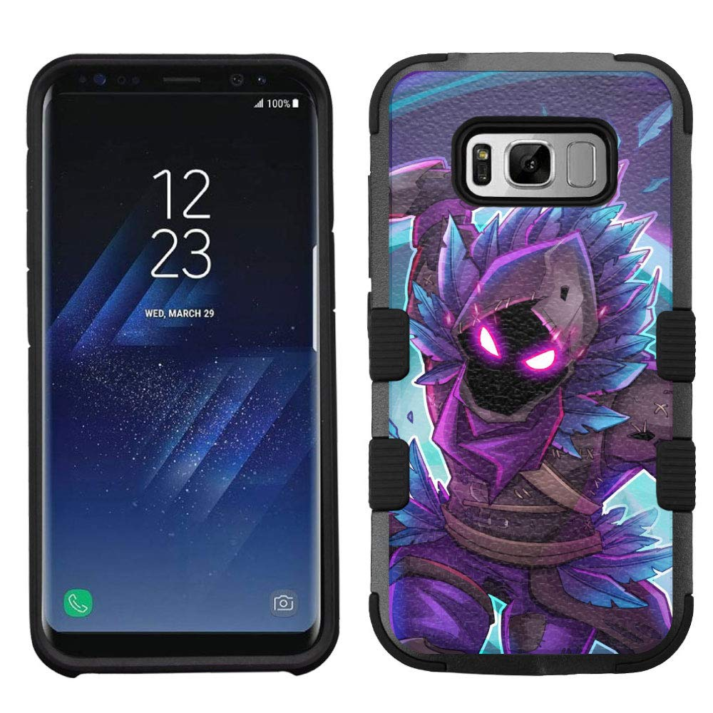 wholesale dealer a85ca f2be4 Amazon.com: for Samsung Galaxy S8 Hard Impact Rugged Case Fortnite ...