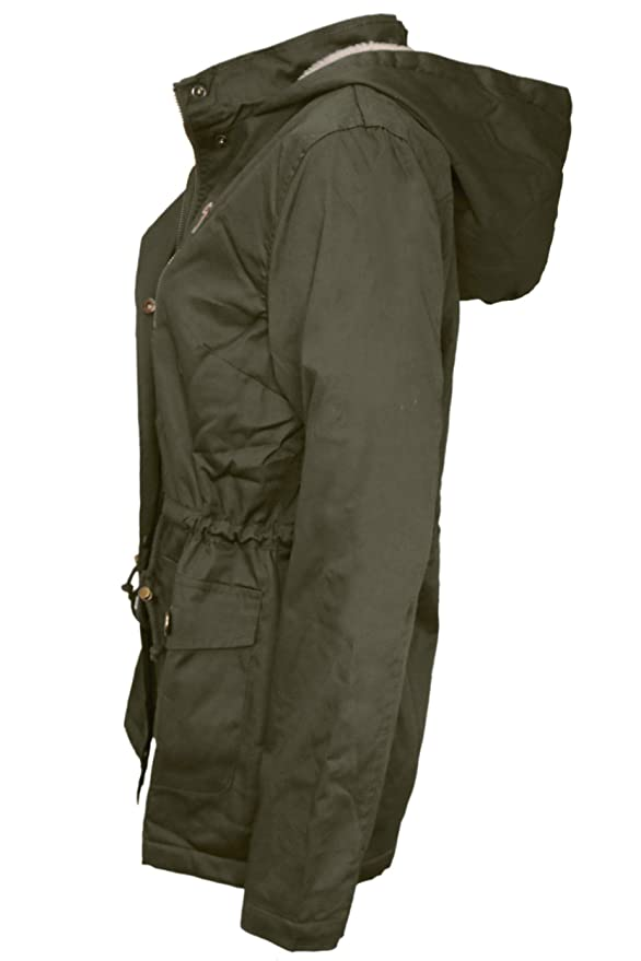 Amazon.com: Top Legging TL - Chaqueta con capucha para mujer ...