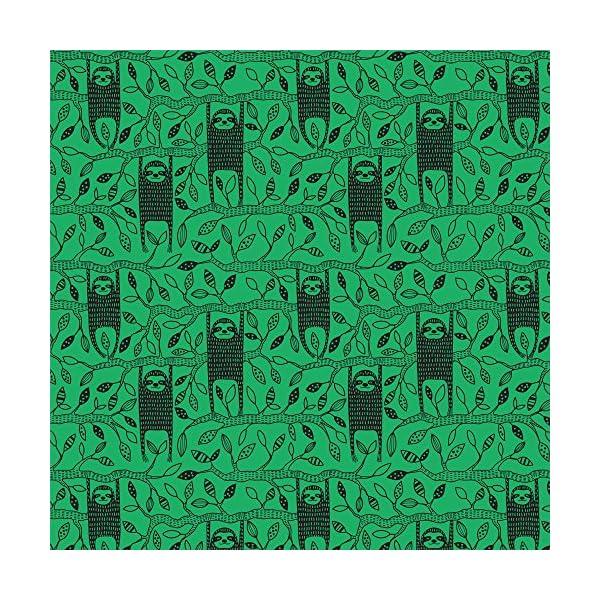 Sharp Shirter Let'S Hang, Sloth Duvet Cover, Printed In Usa (Twin) -
