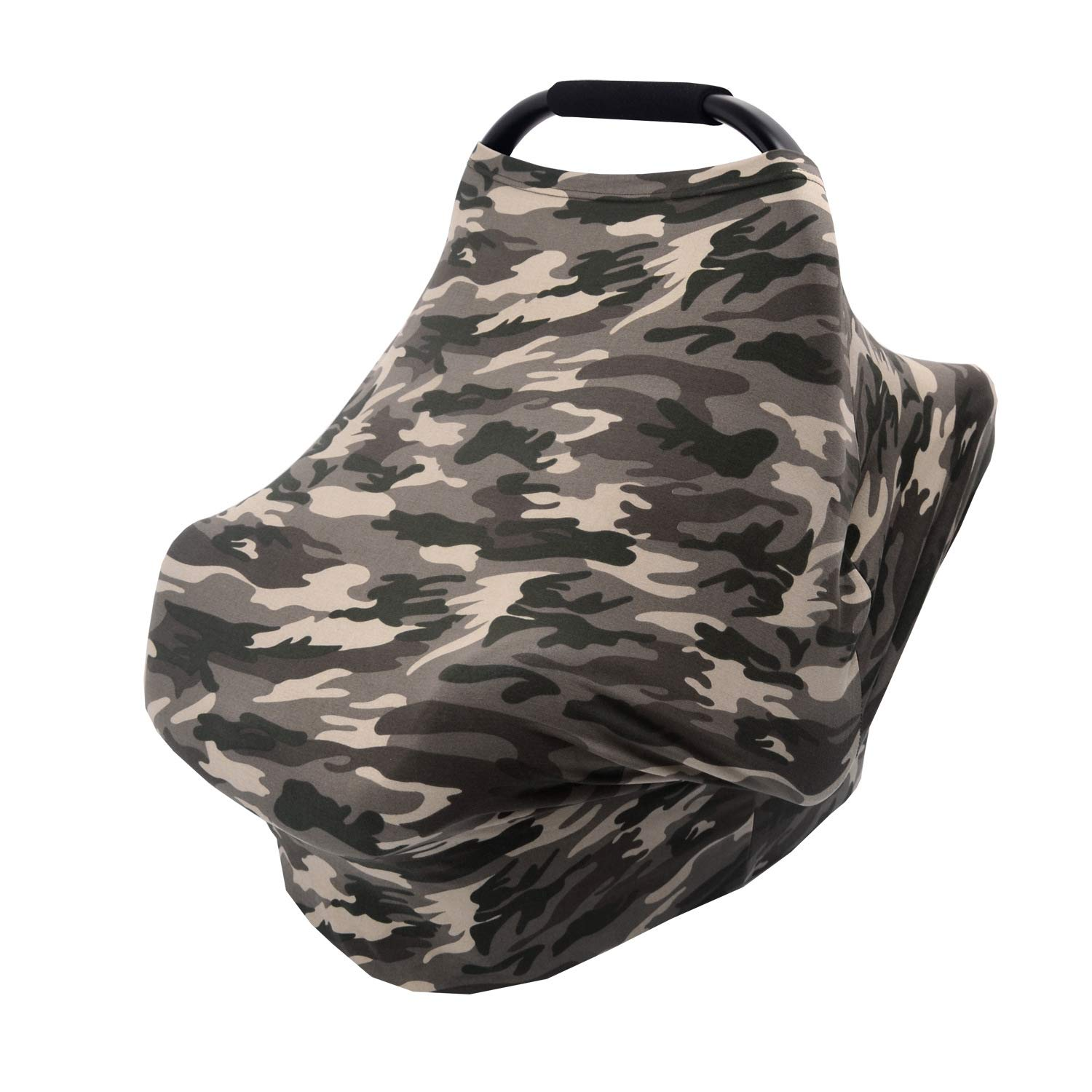 HONEY$HOMEY Camouflage Series Baby Car Seat Cover Brown Earth