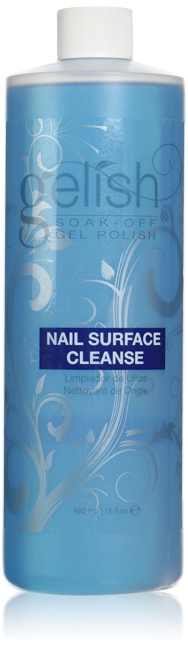 Gelish Nail Surface Cleanser, 16 Ounce