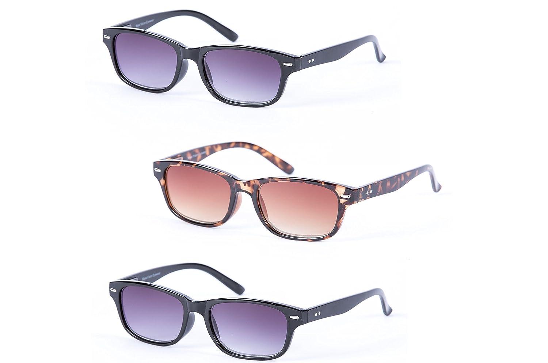 """Massa Vision® 3paio di classico """"The Intellect Full lettura–Outdoor lettura occhiali da sole no..."""