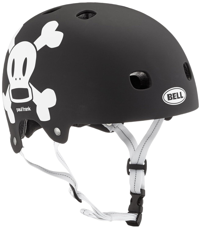 Bell Kinder Fahrradhelm Segment Junior 16 Mat Black White Pf Skrv S Amazon Sport & Freizeit