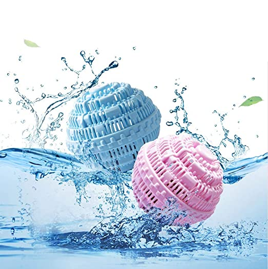 GQHH 2 Unids Magic Laundry Ball Sin Detergente Wash Estilo ...