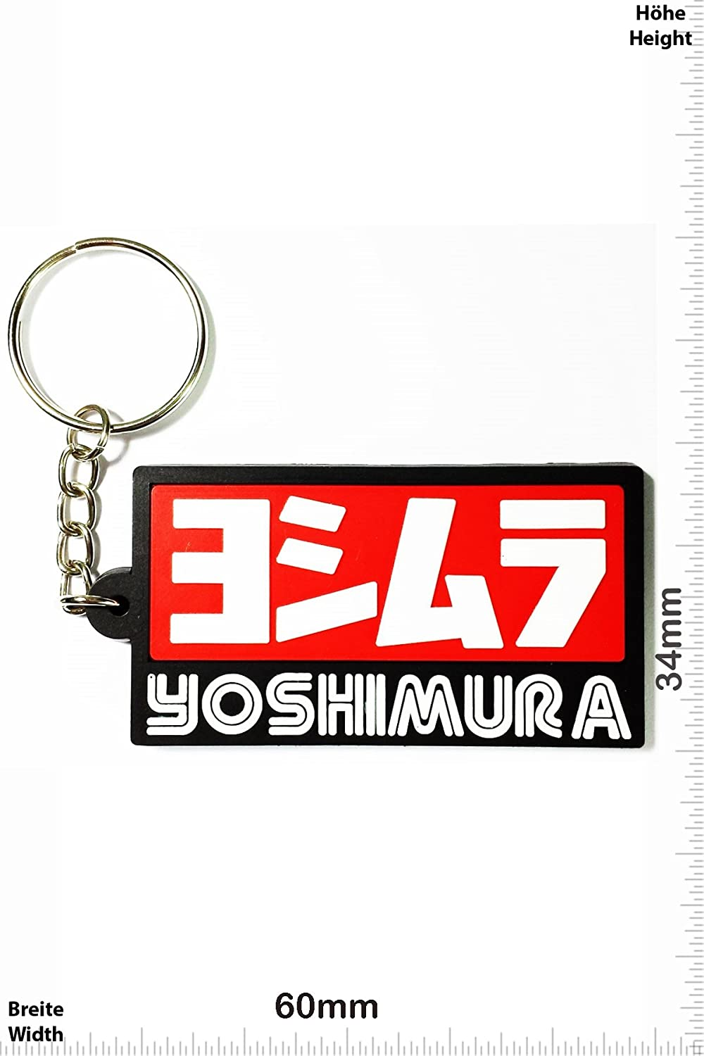 Keychains Porte-clés - Yoshimura - Tuning - Motorcycle - Motorbike - Car - Scooter - Key Ring - Kautschuk Rrubber Keyring - perfect also bags, wallets or briefcase - Give away