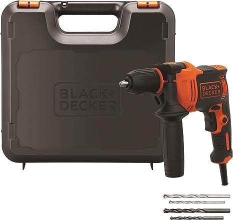 Black+Decker BEH710K-QS Taladro Percutor 710W, 710 W, 230 V