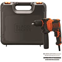 Black+Decker BEH710K-QS Taladro Percutor 710W, 710 W, 230