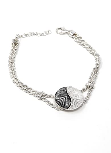Sterling Silver Two-Tone Tao Corbula Necklace iQFMc