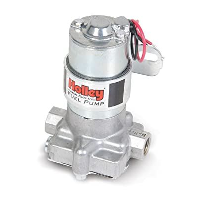 Holley Electric Fuel Pump Black Auto: Automotive