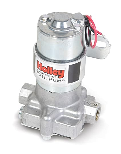 Holley 12-815-1 Black Electric Fuel Pump - 140 GPH, Electric