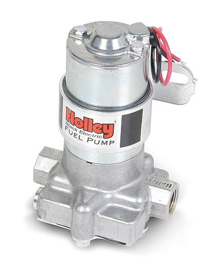 amazon com holley 12 815 1 black electric fuel pump 140 gphamazon com holley 12 815 1 black electric fuel pump 140 gph automotive