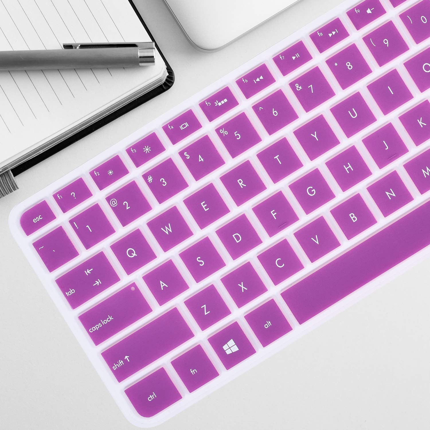 AutoLive Keyboard Protector Skin Cover Compatible 13.3 HP Envy 13 Spectre XT Ultrabook 13-2050nr 13-2150nr 13-2057nr 13-2000 13-2100 13-2101tu 13-2102tu 13t-2000 13t-2100 US Layout Laptop