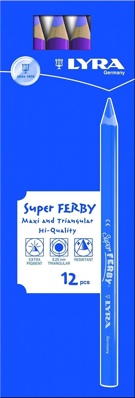 LYRA Super Ferby Kartonetui mit mit mit 12 Farbstiften, kupfer B00752JOK8 | Merkwürdige Form  b073e9