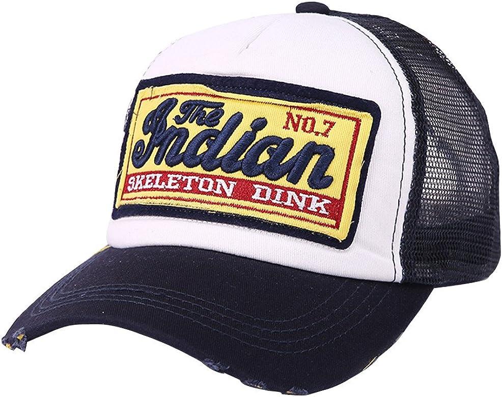 Gorras de béisbol,riou Beisbol con Visera Ajustable de algodón de ...