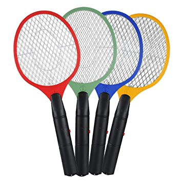 Pack of 2X Zapper Bug Bat Fly Mosquito Insect Killer Wasp Trap Swatter Racket