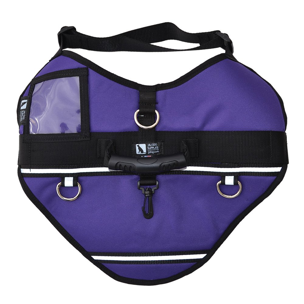 J&J Dog Supplies 36JMH-ACT-PUR-XL Activ Dog Harness, X-Large, Purple