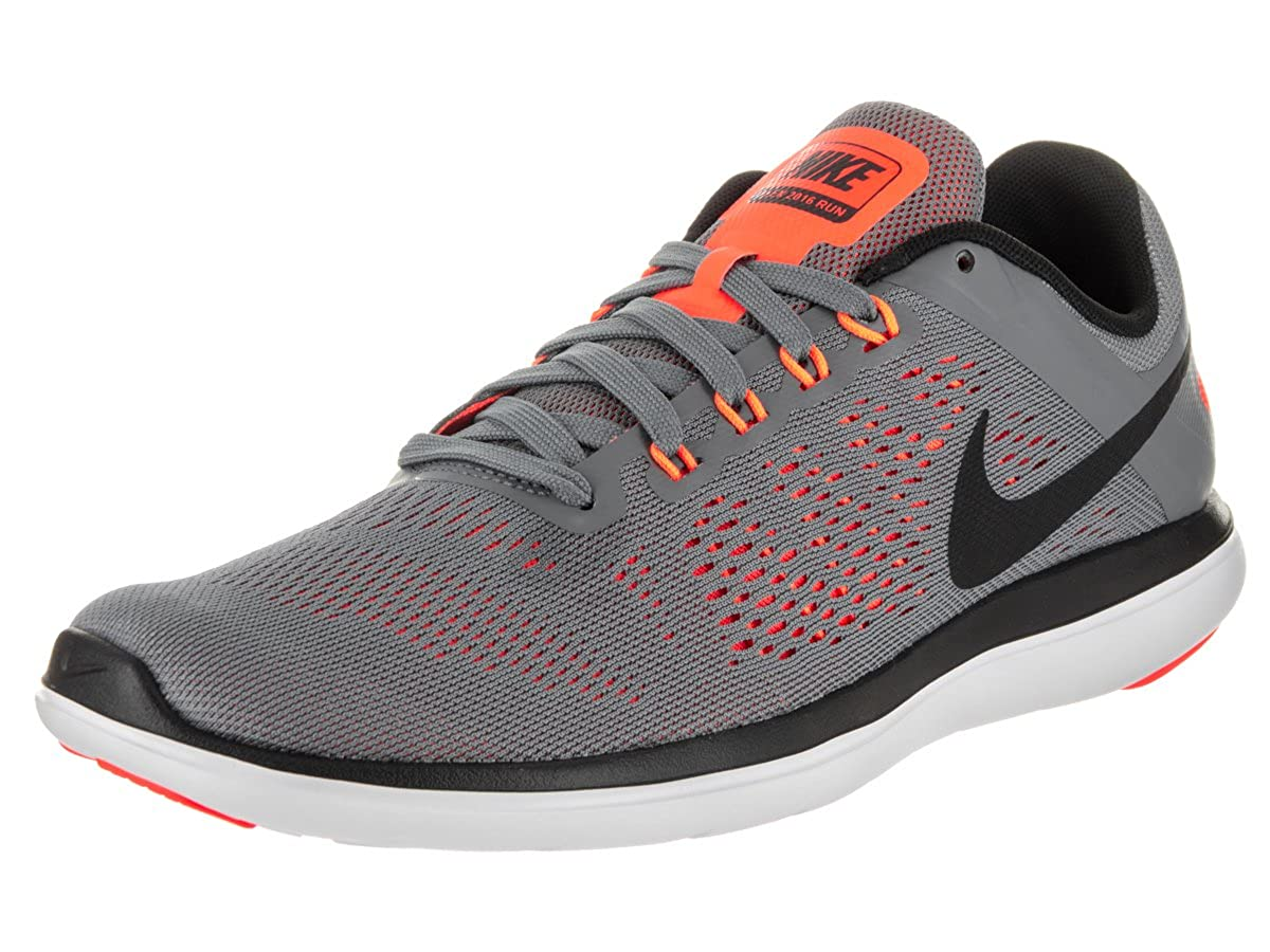 dadca3866fd0a Nike Men s Flex 2016 Rn Running Shoe Cool Grey Black White 10 D(M) US  Buy  Online at Low Prices in India - Amazon.in