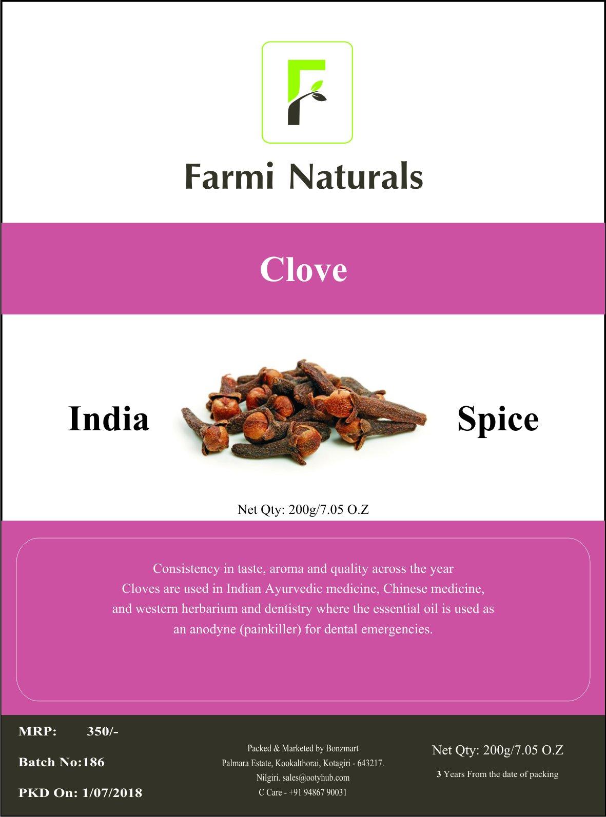 Whole Clove Indian Spice - 200g/7.05 oz