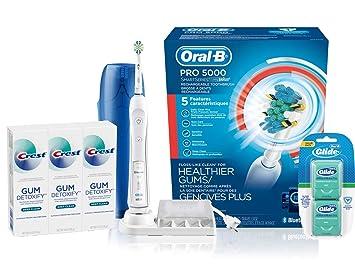 Amazon.com: Cepillo de dientes eléctrico Oral-B Pro, Paquete ...
