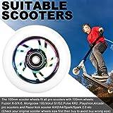 Kutrick 2pcs 100mm Complete Stunt Pro Scooter
