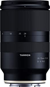 Tamron A036 Lightweight and Compact Tamron 28-75mm 2.8 Di III RXD Lense for Sony Camera, Black (TM-A036SF)