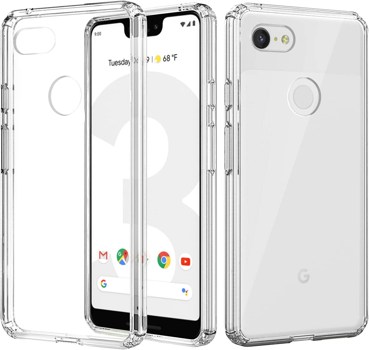 MoKo Compatible con Google Pixel 3 XL Funda: Amazon.es: Electrónica