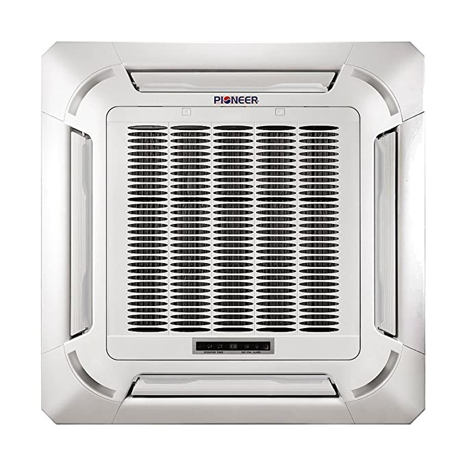 Amazon.com: Pioneer Ceiling Cassette Split Ductless Inverter+ Heat Pump System Set, 48000 BTU: Home & Kitchen