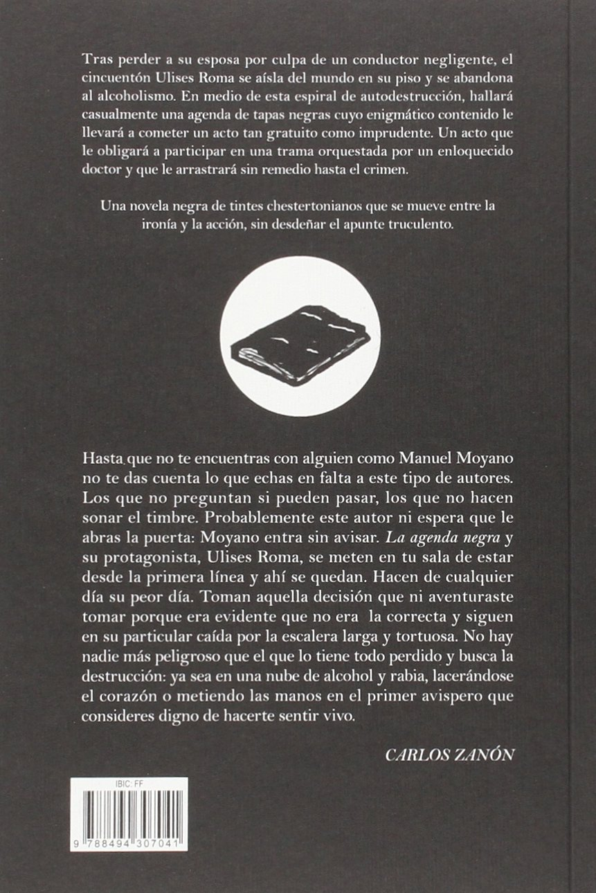 LA AGENDA NEGRA [Próxima aparición]: Manuel Moyano Ortega ...