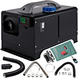VEVOR Diesel Air Heater 8KW, All in One 12V Truck Heater, Parking Heater with Black LCD, Remote Control, Fast Heating…