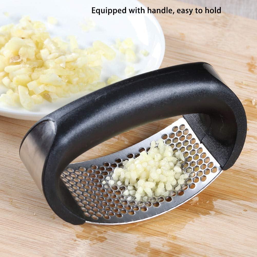 Presse-ail manuel hachoir /à l/égumes au gingembre broyeur m/énager fournitures de cuisine en acier inoxydable