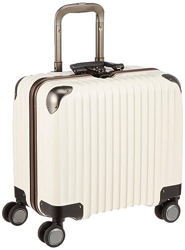 3ee20b519c Amazon   [カーゴ] スーツケース ハードキャリー フレーム TW43 横型 ビジネス 33L 3.9kg 双輪消音キャスター  TSAロータリーロック 保証付 43 cm アイボリー ...
