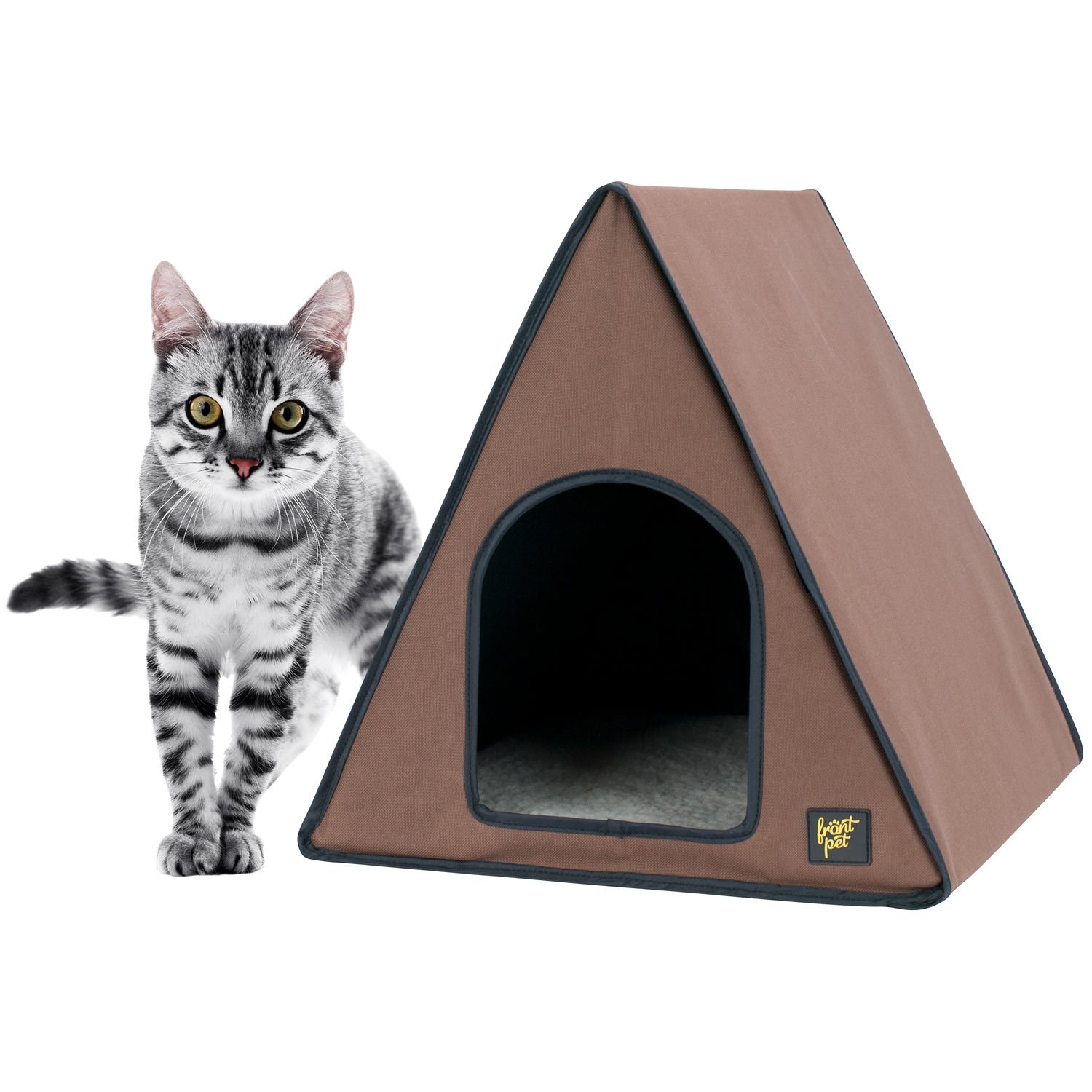 Frontpet A-Frame Heated Cat House FBA_FRO-AHCH