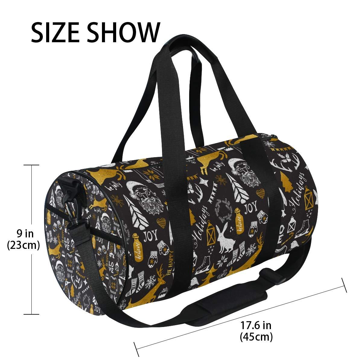 Nightmare Before Christmas Decorations Gift Popular casual fitness bag,Non-Slip Wearable Crossbody Bag Waterproof Shoulder Bag.