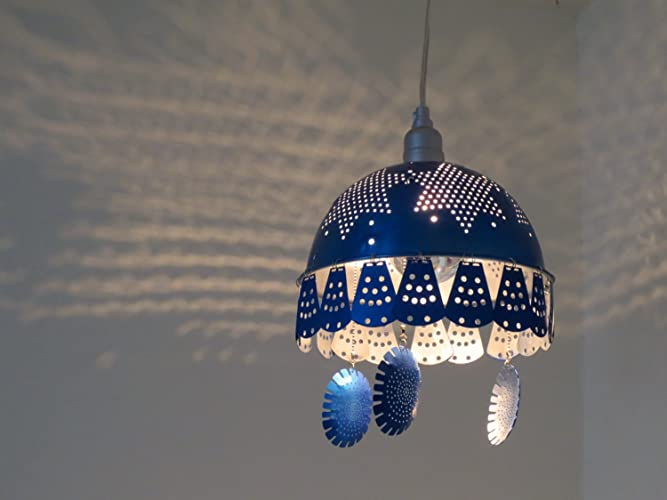 Amazon bluelectric medusa plug in pendant light handmade bluelectric medusa plug in pendant light aloadofball Images