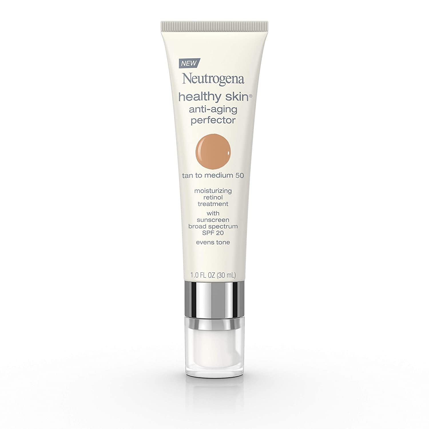 foto de Amazon.com: Neutrogena Healthy Skin Anti-Aging Perfector Tinted ...