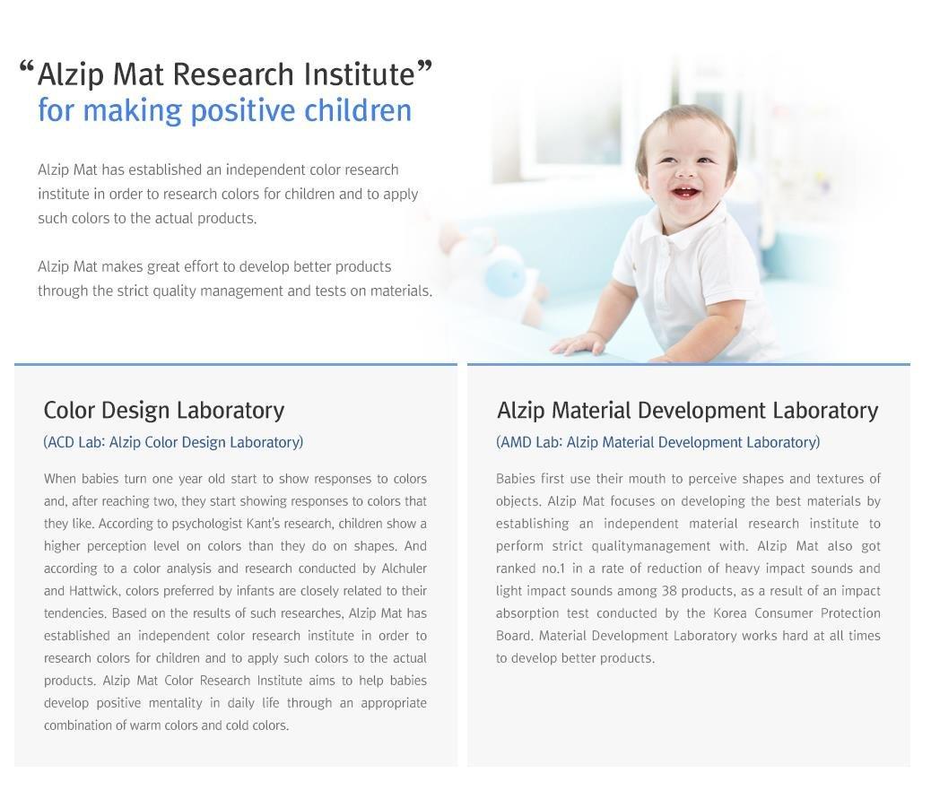 [Alzip Mat] Baby Playmat - ECO Color Folder Duo (Non-Toxic, Non-Slip, Waterproof) (Eco Duo Gray, XG)