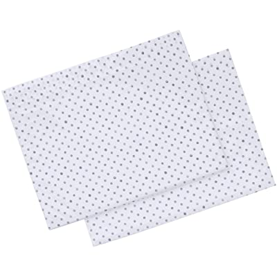 ED Ellen DeGeneres Watercolor Dots Pillowcase Pair, Standard Cases: Home & Kitchen