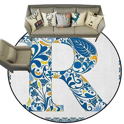 Surprising Amazon Com Letter Rlow Profile Mats Curly Blossoms Inzonedesignstudio Interior Chair Design Inzonedesignstudiocom